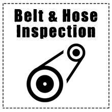 Belt & Hose Inspection