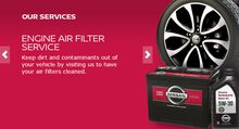 10% Off Engine Air Filter Service