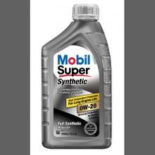 Mobil Super Synthetic Oil Change