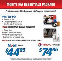Moritz Kia Essentials Package