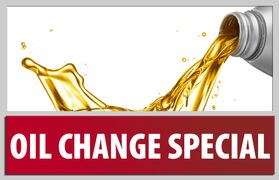 OIL CHANGE SPECIAL !