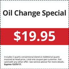Oil Change Super Saver