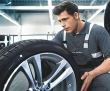 Rebate with Select Tire Purchase - BMW