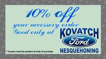 10% Off Accessory Order