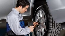 $25 OFF Wheel Alignment Special