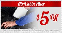 Air or Cabin Filter
