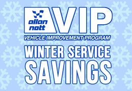 Allan Nott VIP Winter Service Savings