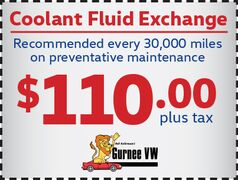 Coolant Fluid Exchange for only $110!