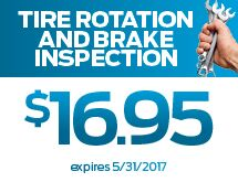 Tire Rotation Coupon