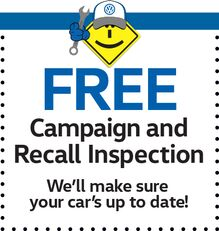 FREE Campaign & Recall Inspection