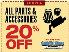 All Parts and Accessories 20% Off