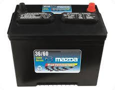 Genuine Mazda Battery Replacement $10 OFF