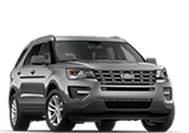 New Ford Explorer at Sheboygan