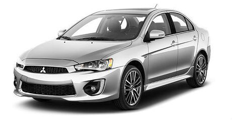 New Mitsubishi Lancer in Mission