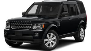 New Land Rover LR4 near Asheville