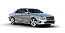 New Mercedes-Benz CLA at Harlingen