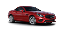 New Mercedes-Benz SLC at Indianapolis