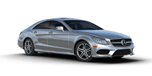 New Mercedes-Benz CLS at Harlingen