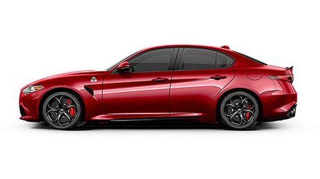 New Alfa Romeo Giulia Quadrifoglio in