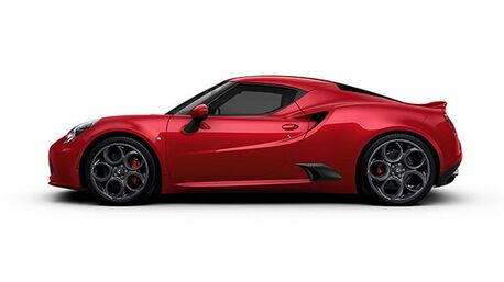 New Alfa Romeo 4C Coupe in
