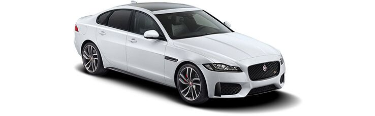 New Jaguar XF near Warwick
