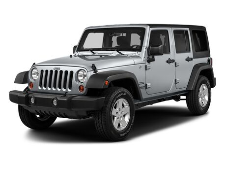 New Jeep Wrangler Unlimited in