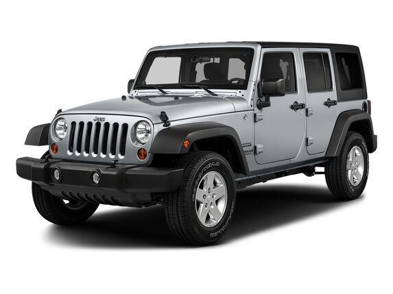 New Jeep Wrangler Unlimited in Edmonton