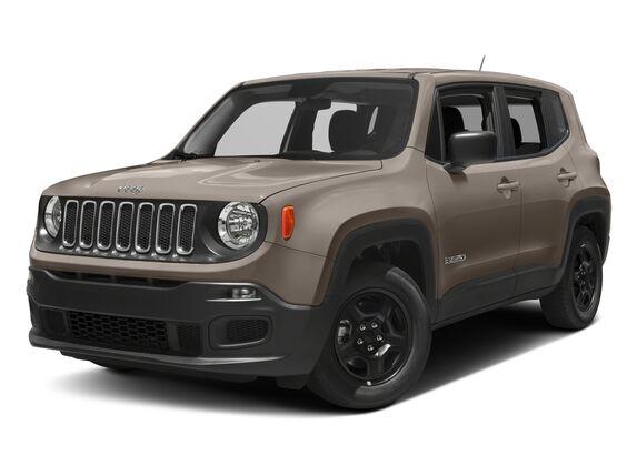 New Jeep Renegade in Edmonton