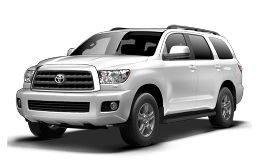New Toyota Sequoia in Paris