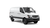 New Mercedes-Benz Sprinter Worker Cargo Van at Van Nuys