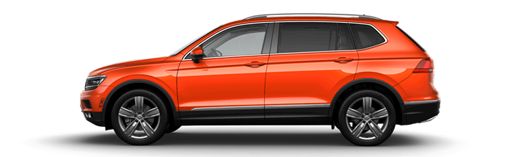 New Volkswagen Tiguan near Everett