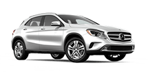 New Mercedes-Benz GLA-Class at Kansas City