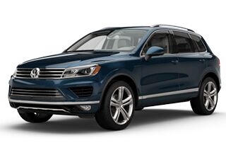 New Volkswagen Touareg in