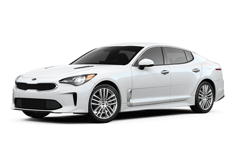 New Kia Stinger in Hamburg