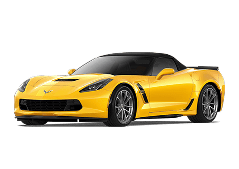 New Chevrolet Corvette in