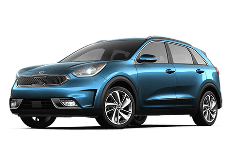 New Kia Niro in Hamburg