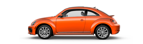 New Volkswagen Beetle in Mission
