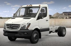 New Freightliner Sprinter Cab Chassis at Anchorage