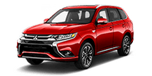 New Mitsubishi Outlander PHEV at Brooklyn