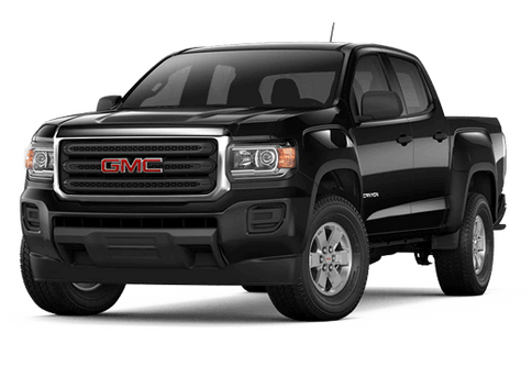 New GMC Canyon in Paris