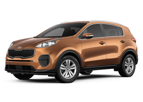 New Kia Sportage in Hamburg