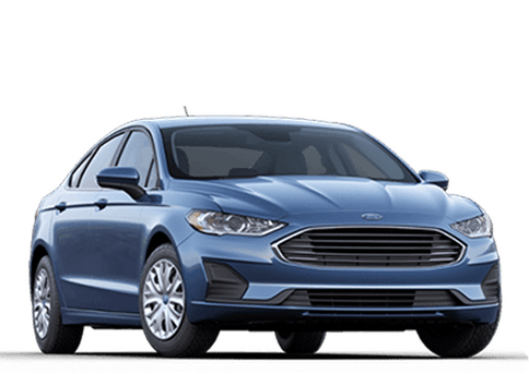 New Ford Fusion Hybrid in