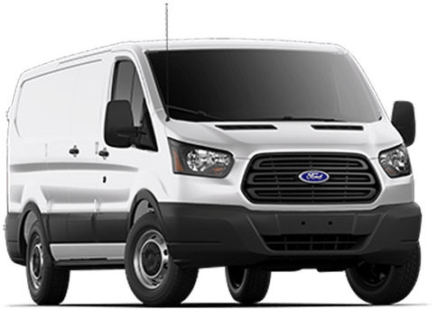 New Ford Transit 350 in