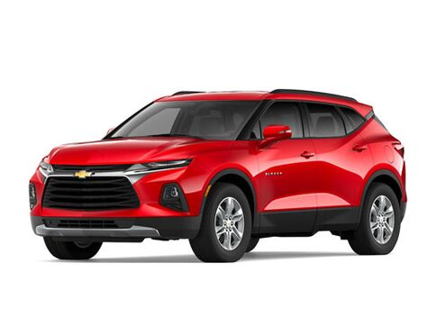 New Chevrolet Blazer in Paris