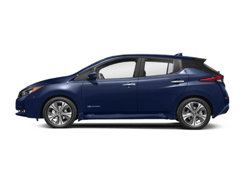 New Nissan LEAF in