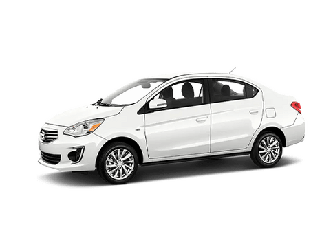New Mitsubishi Mirage G4 in