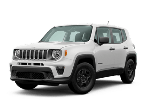 New Jeep Renegade in