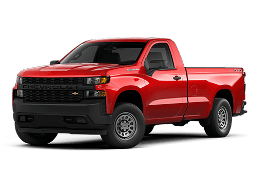 New Chevrolet Silverado 1500 in