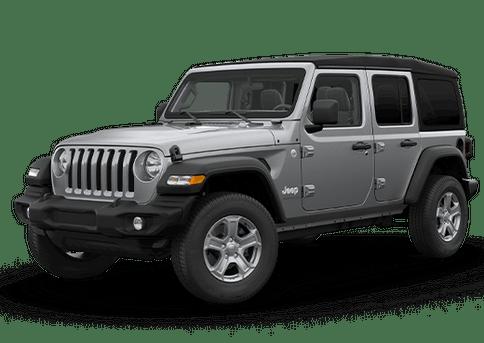 New Jeep Wrangler in