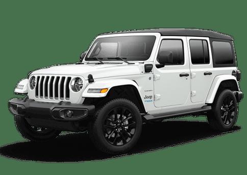 New Jeep Wrangler 4xe in